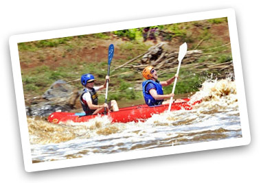 The best white water rafting just 45 minutes from Jo'burg and Pretoria